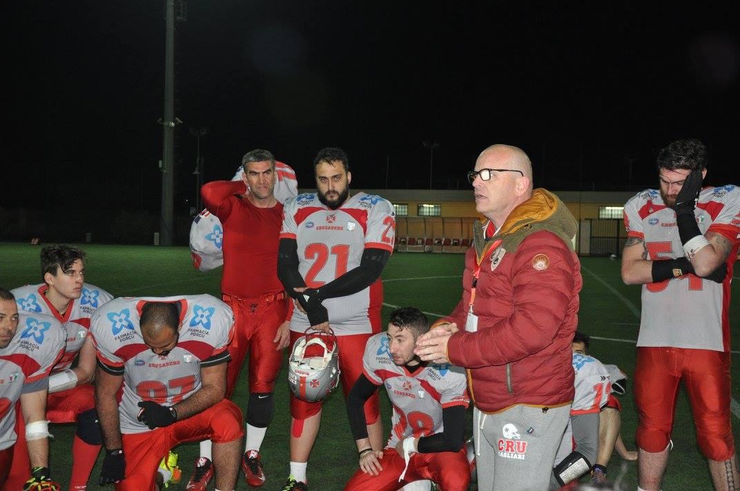 Giuseppe Fiorito con i suoi atleti (Foto Battista Battino)