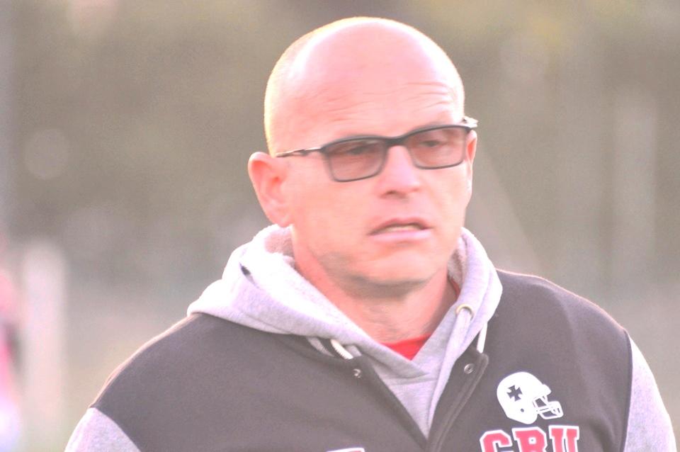 L'head coach Fiorito non ha digerito la sconfitta con gli Skorpions (Foto Battista Battino)
