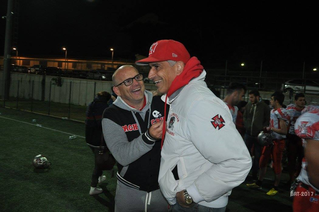 a sx Giuseppe Fiorito col presidente Emanuele Garzia (Foto Battista Battino)