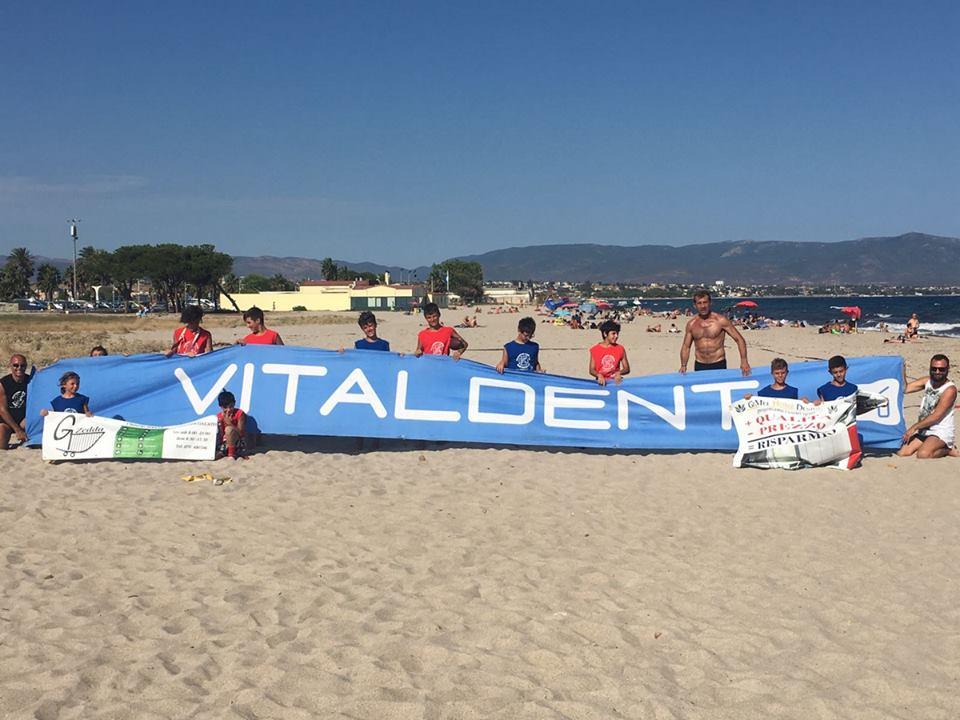 Anche i bambini protagonisti al Beer Beach (Foto Giulia Congia)