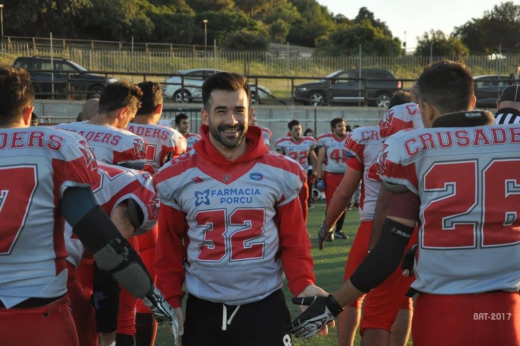 Gianfranco Farris ha abbandonato il football giocato (Foto Battista Battino)