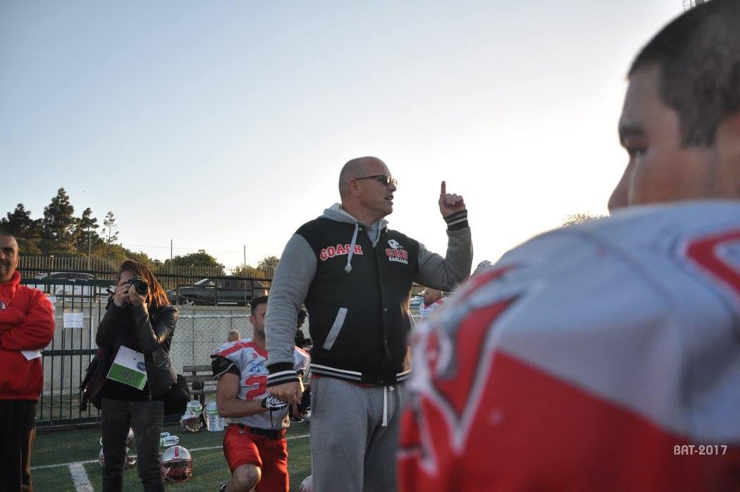 L'ex Head Coach Giuseppe Fiorito (Foto Battista Battino)