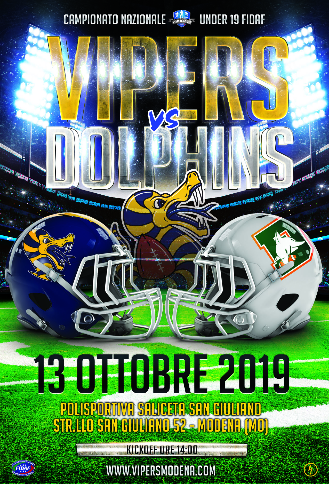 VIPERS-vs-DOLPHINS