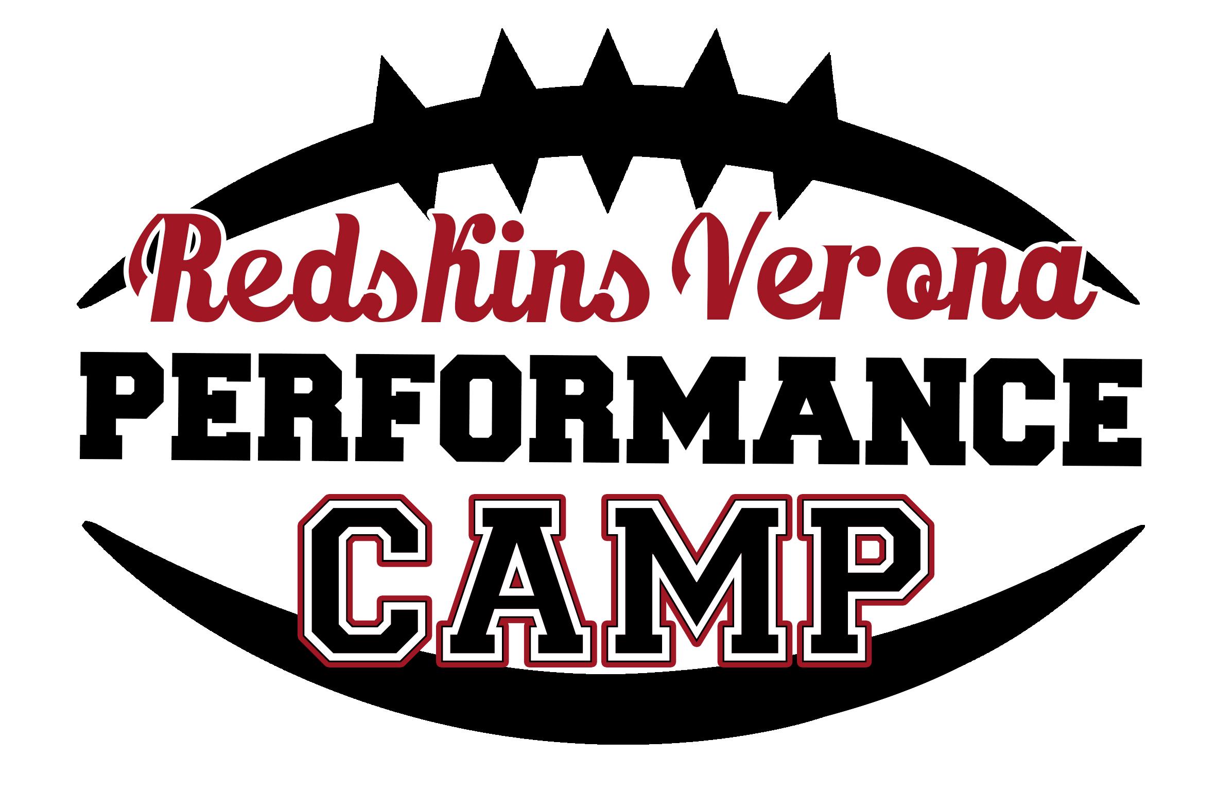 logo redskins performance camp