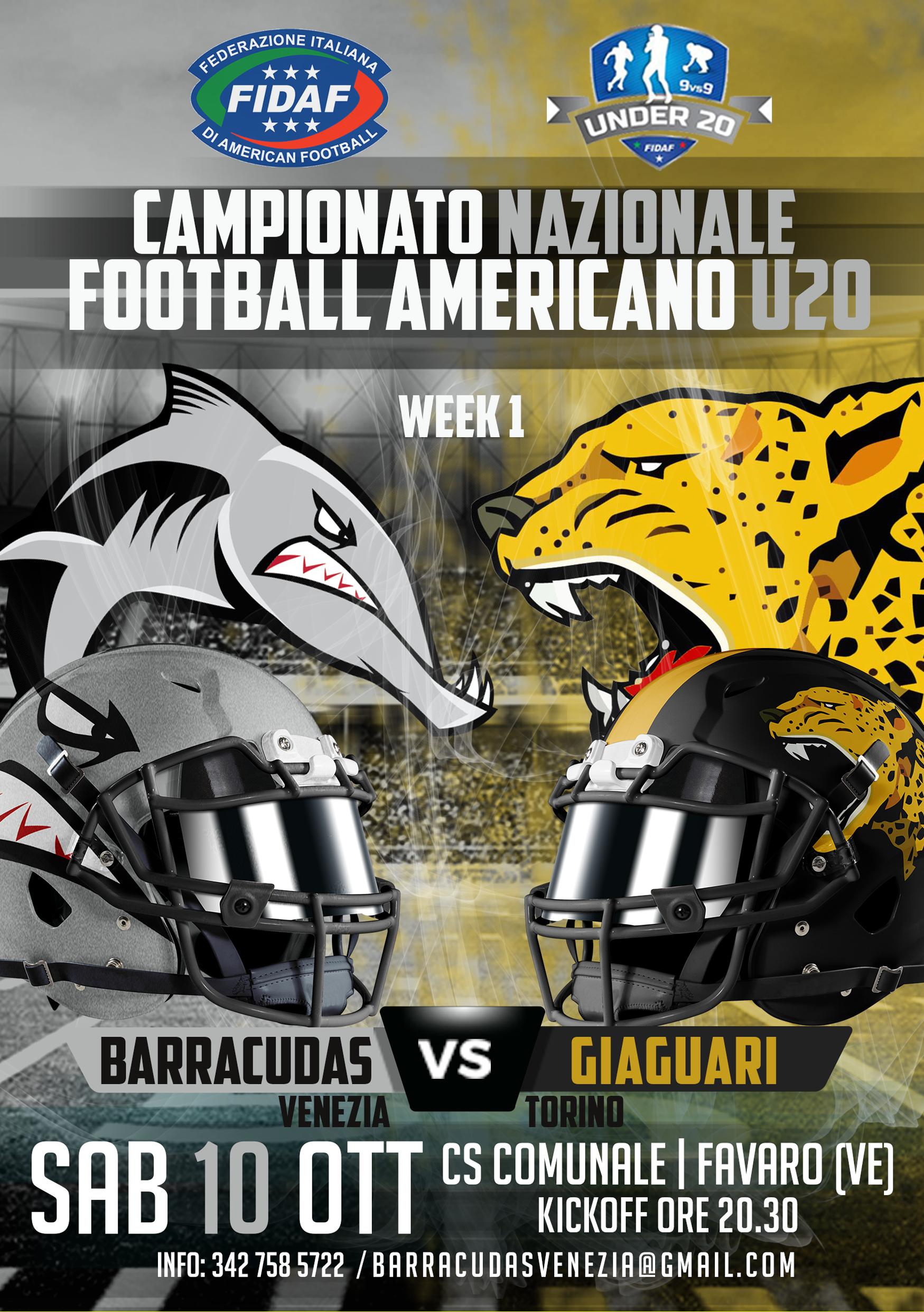 BAV_Poster partite 2020_HOME_Giaguari